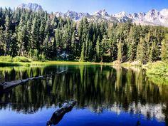 Emerald Lake, Mammoth Lakes, California, USA