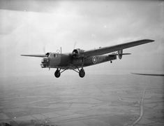 Bristol Bombay --- British troop transport aircraft adaptable for use as a medium bomber flown by the Royal Air Force (RAF)