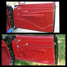 Carpet on Door Panels - Yea or Nay? - TriFive.com, 1955 Chevy 1956 chevy 1957 Chevy Forum , Talk about your 55 chevy 56 chevy 57 chevy - Belair , 210, 150 sedans , Nomads and Trucks, Research, Free Tech Advice