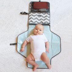 On-The-Go Changing Mat   30 Unexpected Baby Shower Gifts That Are Sheer Genius