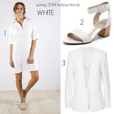 Spring has sprung. Your wardrobe is edited and your basics are sorted. What spring 2014 fashion trends in colour will you add to what you wear every day? Spring 2014, Summer 2014, Spring Summer, 2014 Fashion Trends, Spring Has Sprung, White Dress, How To Wear, Color, Dresses