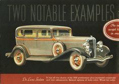 Rockne Sedan 1933 built by Studebaked