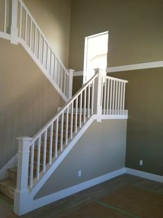 What Are Stair Balusters   Square White Stair Balusters   Google Search