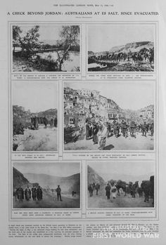 A Check Beyond Jordan: Australians at Es Salt, since Evacuated   The Illustrated First World War
