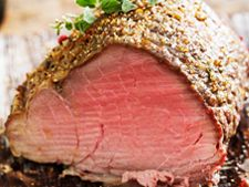 You'll love this juicy sirloin tip roast made with a fragrant honey mustard herb crust. Quick to assemble and roast, this recipe yields a savory au jus that is delicious poured over buttermilk mashed potatoes. Sirloin Tip Roast, Sirloin Tips, Beef Tenderloin, Pot Roast, Ground Beef Recipes, Steak Recipes, Roasted Tomato Salsa, Irish Beef, Restaurant Deals