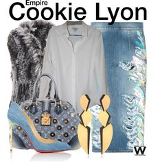 Inspired by Taraji P Henson as Cookie Lyon on Empire.