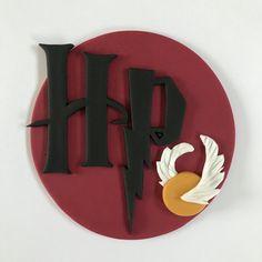 Harry Potter Cake Topper-Fondant