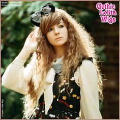 Gothic Lolita Wigs®  Rhapsody™ Collection - Brown