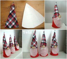 blog- TeLi : Vánoční skřítci- bez šití
