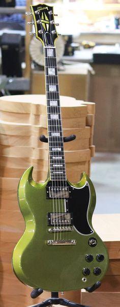 2018 Gibson Custom Made2Measure SG Custom in Verdoro Green