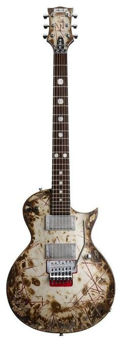 ESP RZK-II Richard Z Signature Electric Guitar | Distressed & Burnt