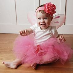For some reason this little girl dressed up as a fairy cracks me up!
