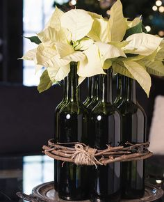 Ideas con Botellas de vino.                              …