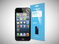 gift ideas for men SPIGEN SGP iPhone 5 Screen Protector Clear Steinheil Ultra Crystal