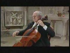 Mstislav Rostropovich - Bach Cello Suite 5 I. Prelude