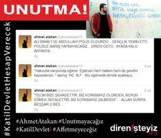 #AhmetAtakan www.direnisteyiz.org