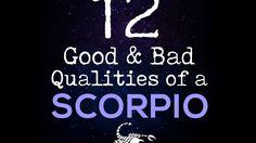 12 Good & Bad Qualities Of A Scorpio - YouTube