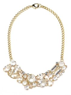 Mixed Cut Necklace - Bauble Bar #diyhairstyle
