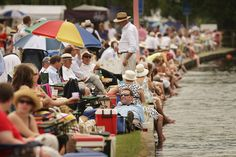 Attend Henley Royal Regatta - suited and booted