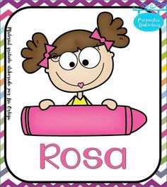 School Organisation, Color Shapes, Classroom Decor, Hello Kitty, Spanish, Preschool, Clip Art, Activities, Pictures