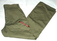 Polo Jeans Co. Ralph Lauren Boys Olive Green Chino/Khaki Pants Size 14 #PoloJeansCoRalphLauren #KhakisChinos #DressyEverydayHoliday