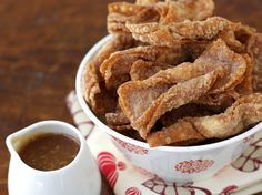 Churro Wontons with Salted Butter Caramel Dipping Sauce   Tasty Kitchen: A Happy Recipe Community!