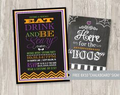 """Halloween Party Invitation 