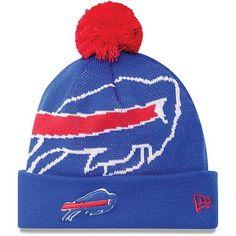 Buffalo Bills New Era NFL Woven Biggie Cuffed Knit Hat by New Era.  19.97. 0ced2a785