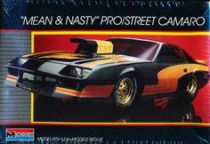 Monogram Mean & Nasty Prostreet Camaro box art