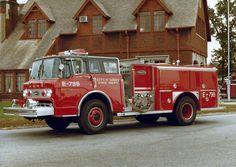 1979 Ford/E-One 1250/500 pumper....