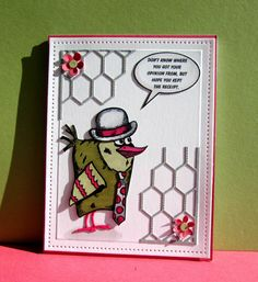 CC573 Bingo Bird by catluvr2 - Cards and Paper Crafts at Splitcoaststampers