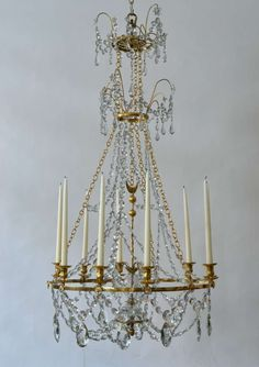 Antique Russian Neoclassical Chandelier circa 1860 | Russia ...