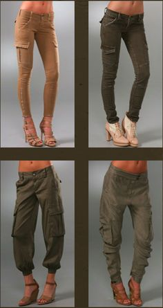 Obsession- Tapered Cargo Pants - Christa Jayne: Fashion Stylist