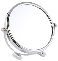 Yunko Beauty Upscale Travel Mirror with Standing 8 Inch Two-Sided Swivel Vanity Mirror with 3x Magnification Desktop Makeup Mirror Cosmetic Mirror >>> Be sure to check out this awesome product. (This is an affiliate link and I receive a commission for the sales)