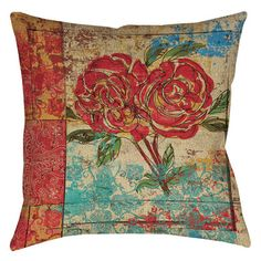 You'll love the Valencia 2 Indoor/Outdoor Throw Pillow at Wayfair - Great Deals on all Bed & Bath  products with Free Shipping on most stuff, even the big stuff.