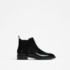 Image 2 of STUDDED DETAIL FLAT ANKLE BOOTS from Zara