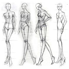 fashion croquis how to draw . fashion croquis front and back Fashion Illustration Poses, Fashion Illustration Template, Illustration Mode, Fashion Design Illustrations, Fashion Design Sketchbook, Fashion Design Drawings, Fashion Sketches, Fashion Figure Templates, Fashion Design Template