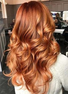 70 Gorgeous Ginger Hair Colors for Long Hair 2018