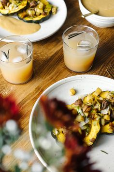 Thanksgiving For Two   w/ Hanselmann Pottery by Faring Well #vegan #recipe