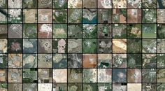 Prison Map is not a map -- it's a snapshot of the earth's surface, taken at various points throughout the United States. It was made by Josh Begley, a