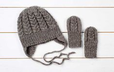 kuva Crochet Baby, Knit Crochet, Baby Knitting Patterns, Beanie Hats, Ravelry, Knitted Hats, Free Pattern, Diy And Crafts, Winter Hats