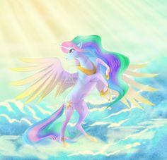 f00b18b71a957b21b773bf2e44850806--princess-celestia-my-little-pony.jpg (736×709)