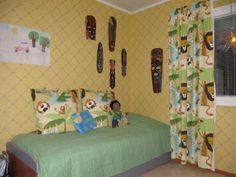 Lasten huoneen stailaus