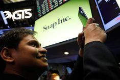 Snap earnings signal an online advertising 'bonanza,' Pinterest and Twitter shares rise Advertising Space, Brand Advertising, Snap Inc, Stock Quotes, Bank Of America, Global Business, Marketing Data, Financial News, New Tricks