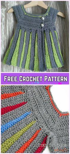Crochet Eloise Baby Sweater Cardigan Free Pattern