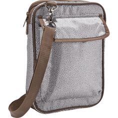 """Inspiration Case - 4032      Inspiration Case  Product Code: 4032    $15.00  Measures approx.: 11""""H x 8""""W x 2""""D  This Hostess Exclusive style is just the right size to carry a Bible, and it's also the perfect size to hold an electronic tablet. It comes with five pockets (including two exterior pockets) and an adjustable shoulder strap so it's easy to carry. Valued at $38.00, earn it for just $15.00!"""