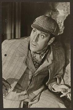 My impression of Holmes (Basil Rathbone) until Jeremy Brett came along...