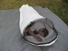 Miles Gear - Uber Bivy $160.00...as soon as this is made in a wilderness-friendly color, I'm buying one!!!!