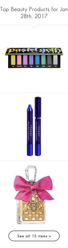 """""""Top Beauty Products for Jan 28th, 2017"""" by polyvore ❤ liked on Polyvore featuring beauty products, makeup, eye makeup, eyeshadow, kat von d eye shadow, kat von d, kat von d eye makeup, palette eyeshadow, kat von d eyeshadow and blue"""