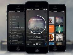 Music Player App | Mobile by Regy Perlera (Atlanta, GA) #ui #mobile